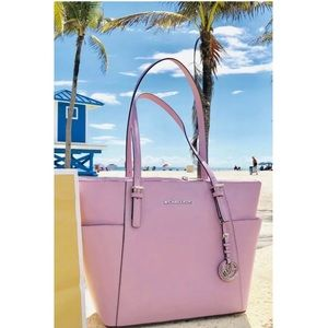 $248 Michael Kors Jet Set Handbag MK Purse Bag